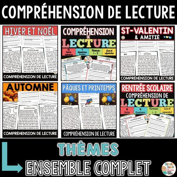 COMPRÉHENSION DE LECTURE HISTOIRES