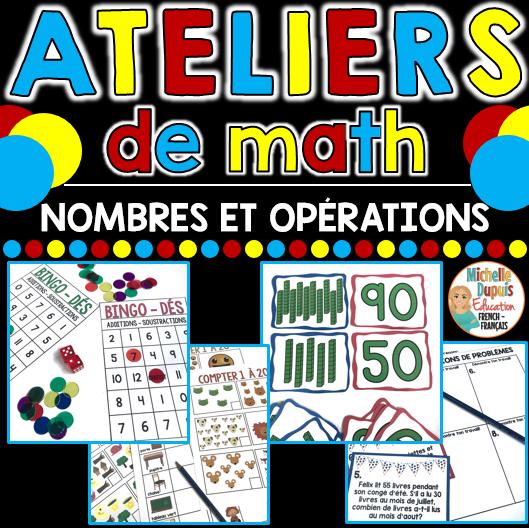 Ateliers de math Nombres et régularités