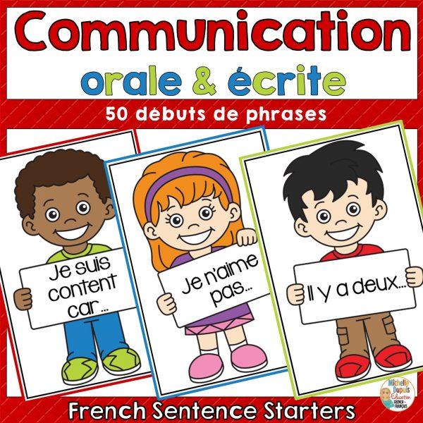 communication orale pour le primaire