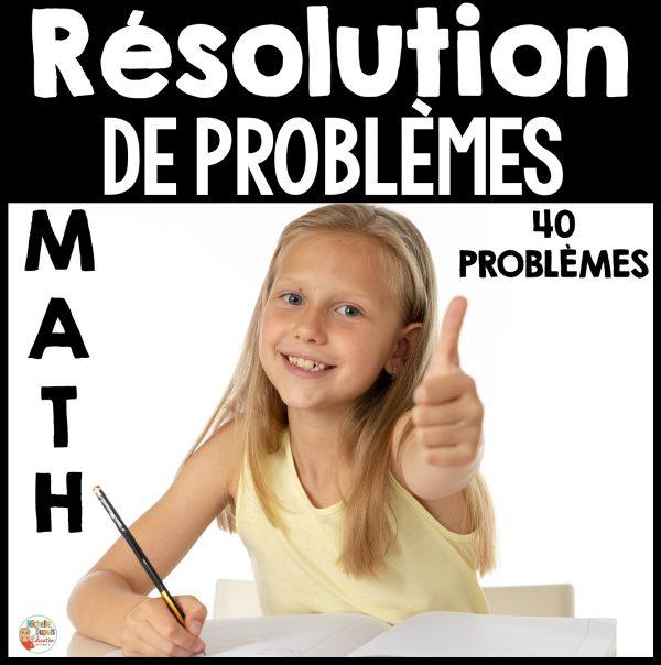 résolutions de problèmes 1re année 2e année