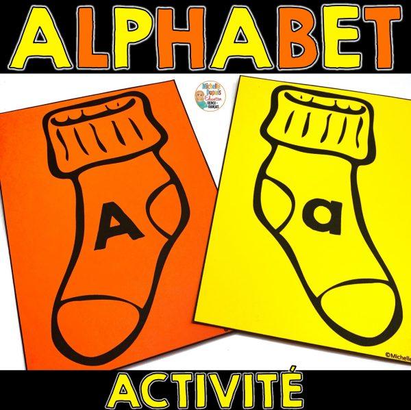rentrée scolaire activité alphabet
