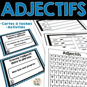 adjectifs grammaire