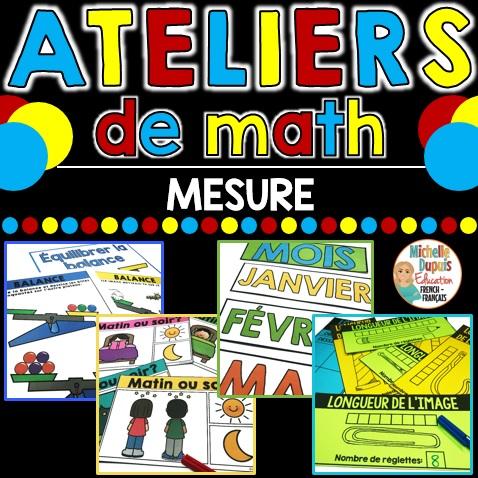 Atelier de math sur la mesure 1re année
