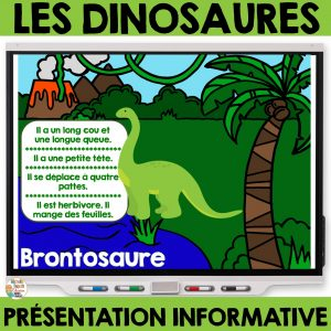 les dinosaures maternelle