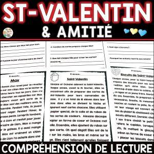 compréhension de lecture st-valentin