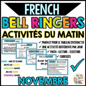 french bell ringers activités du matin