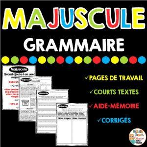 majuscule grammaire noms propres début de phrase