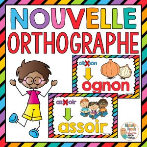 Nouvelle orthographe affiche