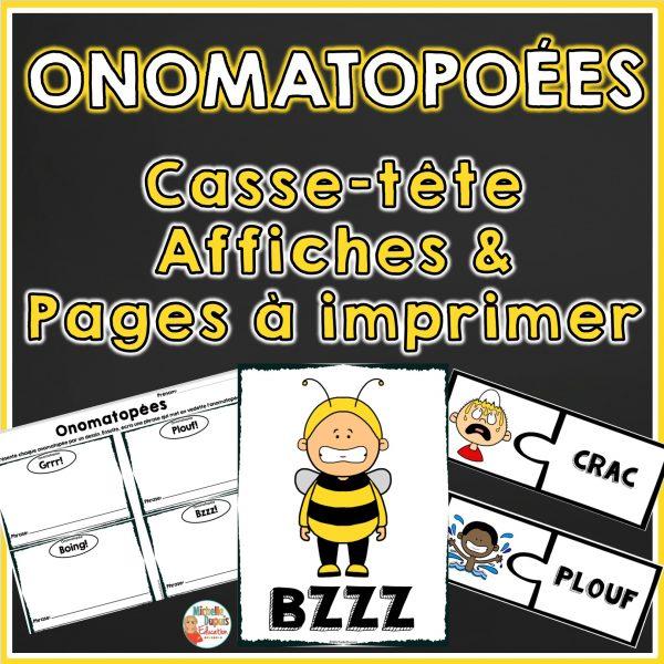 Onomatopées