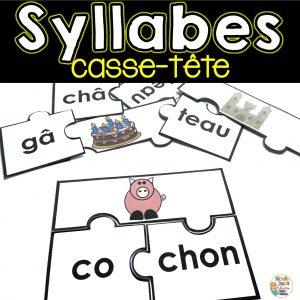 syllabes consciences phonologiques sons variés