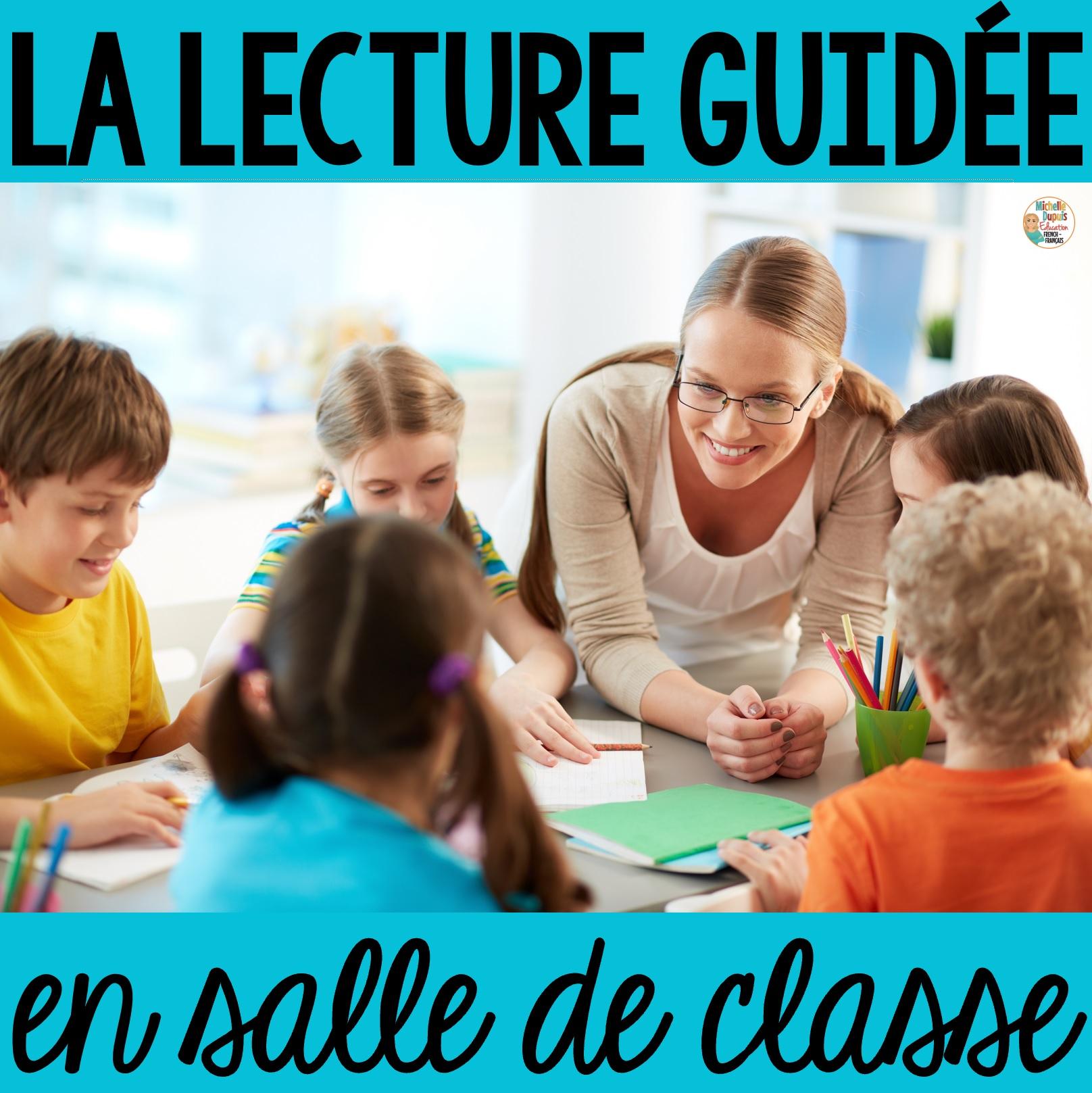 lecture guidée en salle de classe