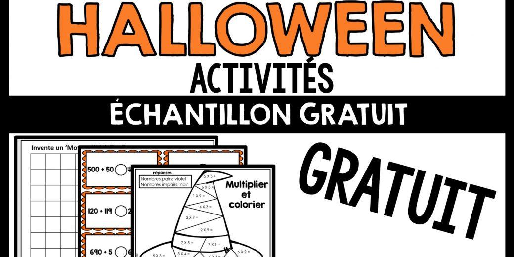 activités pour la fête Halloween