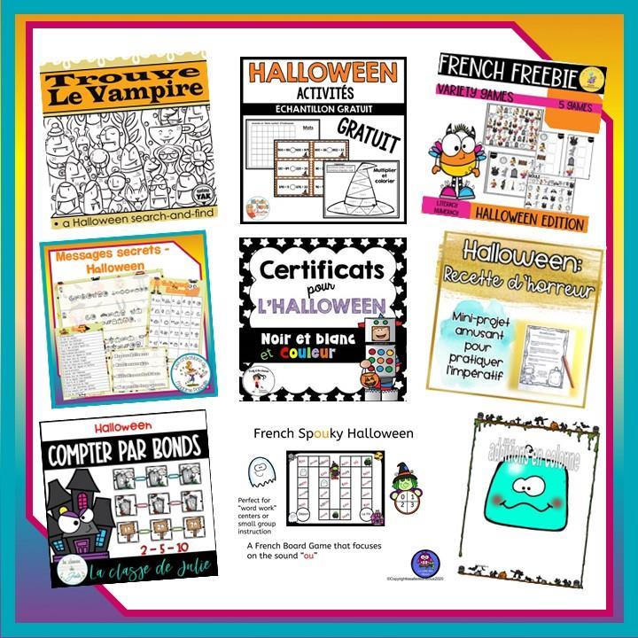 Activités Halloween pour les élèves