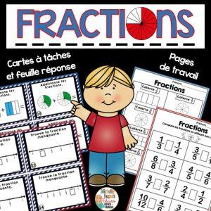activités sur les fractions